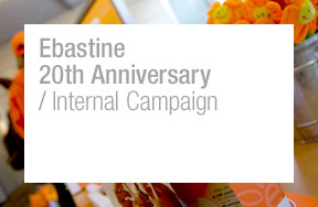 Ebastine 20th Anniversary / Internal campaign